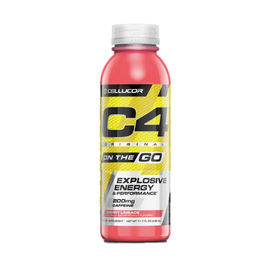 C4 On-The-Go RTD 346ml Cherry Limeade - 12 Pack