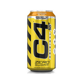 C4 Carbonated RTD 473ml - Tropical Blast  - 12 Pack