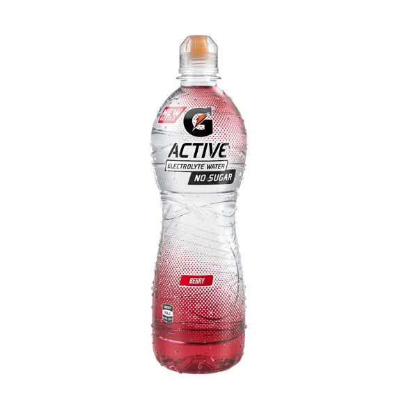 Gatorade G Active 600 ml - Berry - 12 Pack