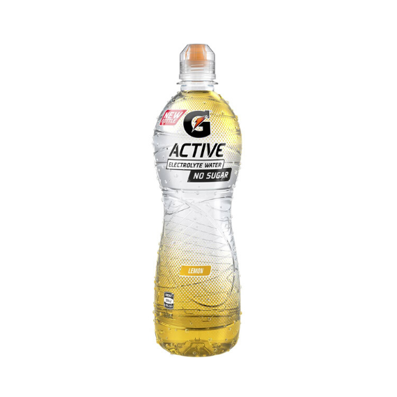 Gatorade G Active 600ml - Lemon - 12 Pack