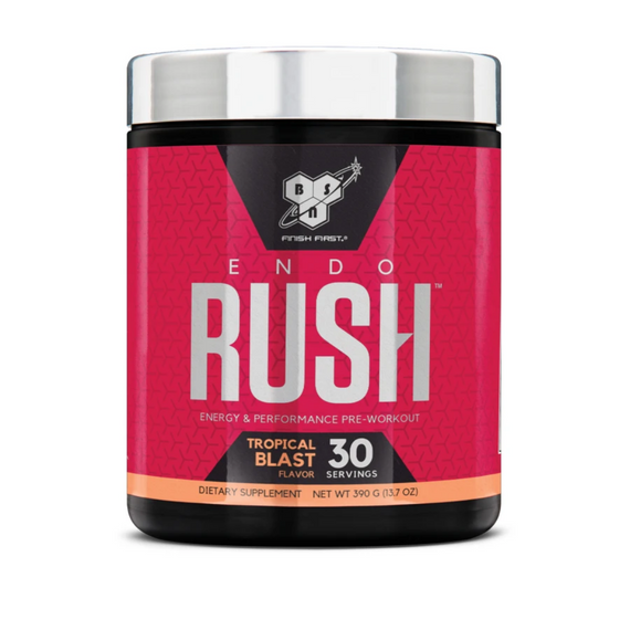BSN Endorush Pre Workout 30 Serve - Tropical Blast