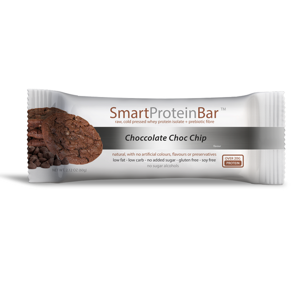 Smart Protein Bar 60g Chocolate Choc Chip - 12 Pack