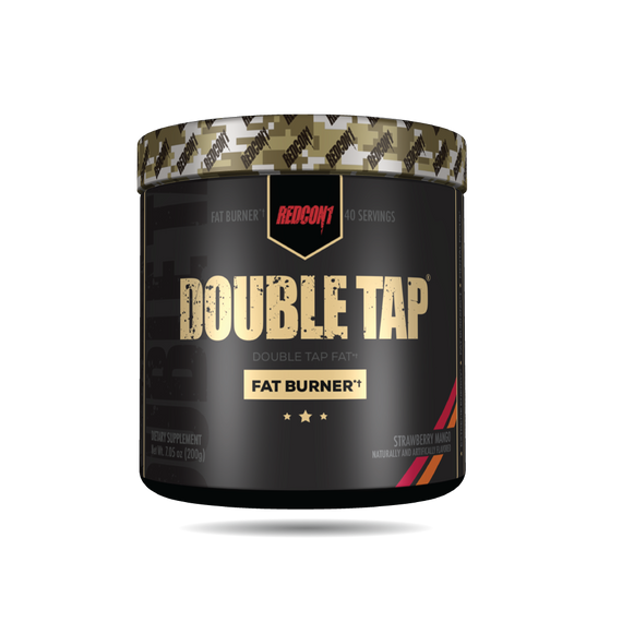 Redcon1 DOUBLE TAP 40 serve Fat Burner Strawberry Mango