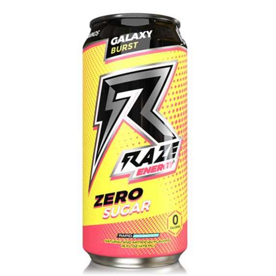 Raze Energy Drink 473ml Galaxy Burst - 12 Pack