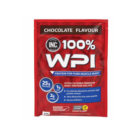 INC 100 WPI Sachet 32g - Chocolate  - 15 Pack