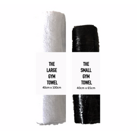 Small Sports Towel - Black