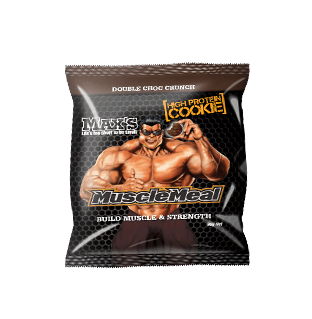 MAX'S Muscle Meal Cookie - 90g - Double Choc - 12 Pack