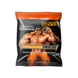 MAX'S Muscle Meal Cookie - 90g - Apricot & Almond - 12 Pack