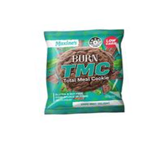 Maxines Total Meal Cookie - 50g - Choc Mint - 12 Pack
