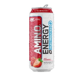 ON Amino Energy Sparkling - 355ml - Strawberry Cooler - 12 Pack