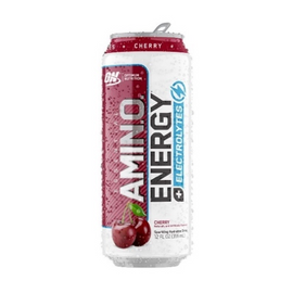 ON Amino Energy Sparkling - 355ml - Juicy Cherry - 12 Pack