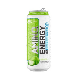 ON Amino Energy Sparkling - 355ml - Green Apple - 12 Pack