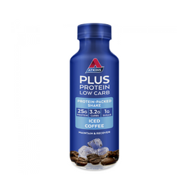 Atkins PLUS Protein Shake 400ml - Dark  Choc