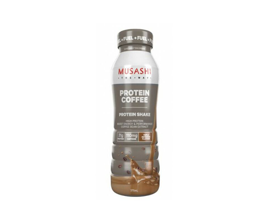 Musashi High Protein Shake - 375ml - Iced Coffee -  6 Pack