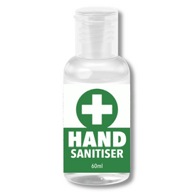 Healthy Touch Hand Sanitiser 60ml - Pack of 5