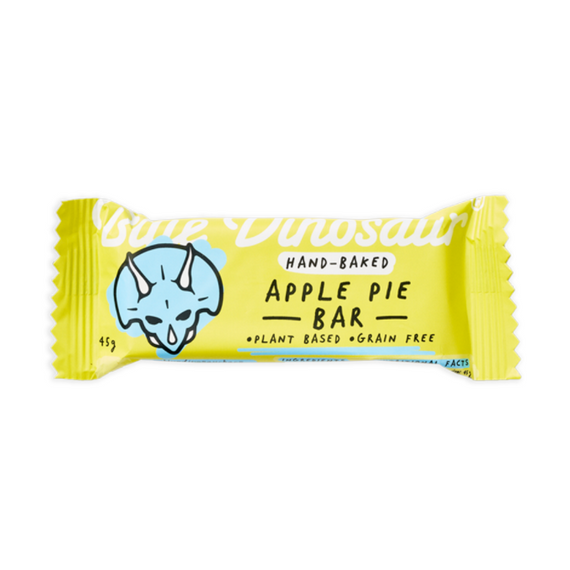 Blue Dinosaur Paleo Bars 45g Apple Pie - 12 Pack