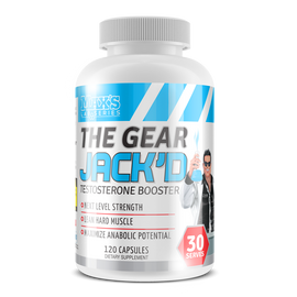 MAX'S Lab Series THE GEAR JACK'D Test Booster 120 Capsules
