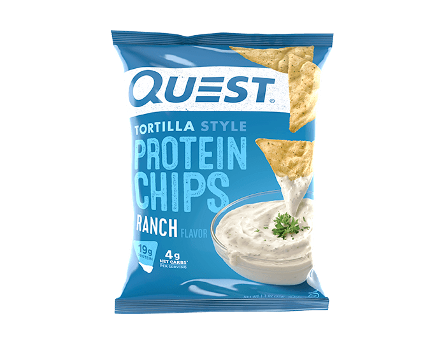 Quest Tortilla Protein Chips 32g - Ranch - 8 Pack