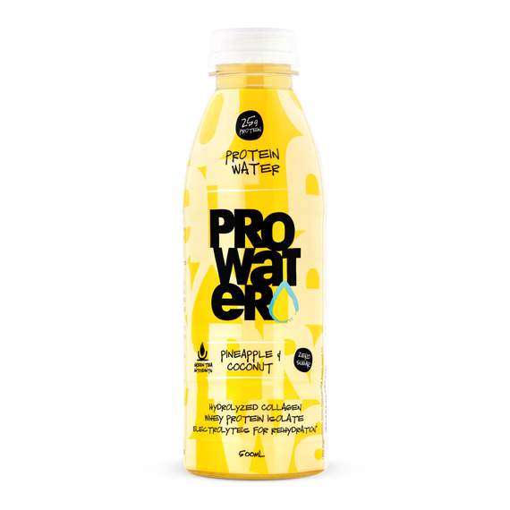 ProWater protein water - Pineapple & Coconut - 12 Pack