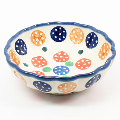Small Scalloped Bowl #1126