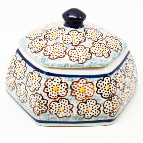 polish-pottery-octagonal-trinket-box-#2113