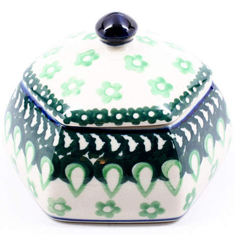 polish-pottery-octagonal-trinket-box-#684