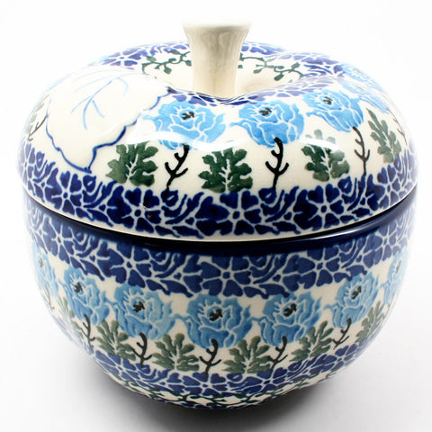 polish-pottery-apple-baker-#1390