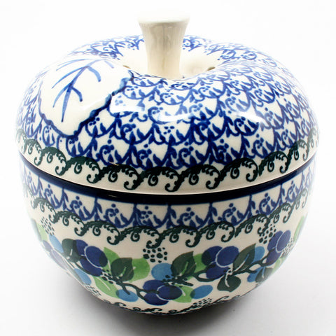 polish-pottery-apple-baker-#1416