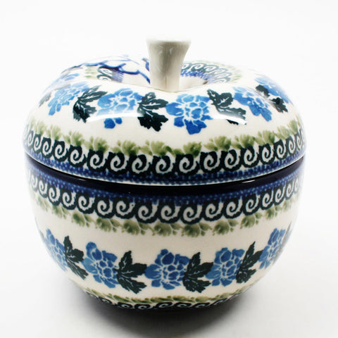 polish-pottery-apple-baker-#1863