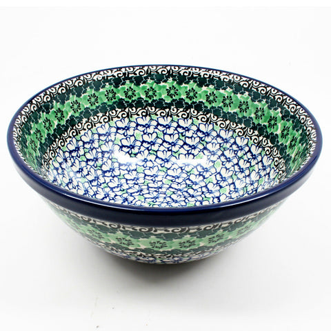 polish-pottery-small-serving-bowl-#1479