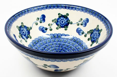 polish-pottery-small-serving-bowl-#163