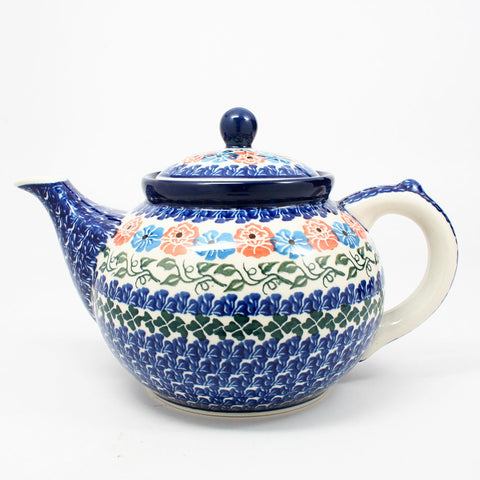 polish-pottery-41oz-teapot-#1369