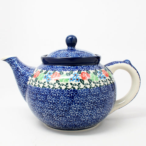 polish-pottery-41oz-teapot-#1498