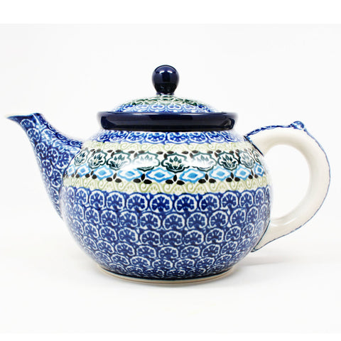 polish-pottery-41oz-teapot-#1858