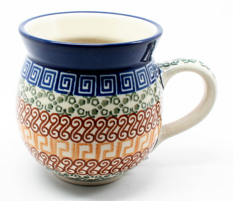 polish-pottery-ladies-mug-#050