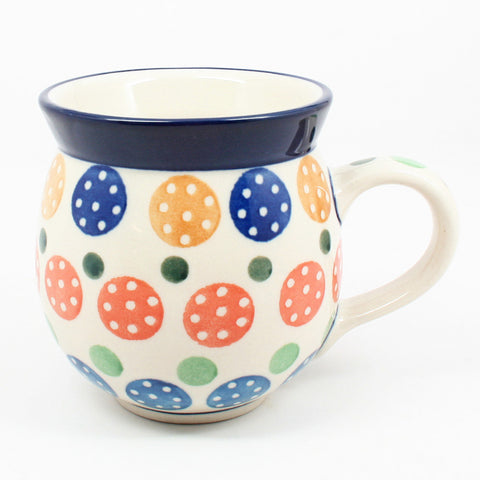 polish-pottery-ladies-mug-#1126