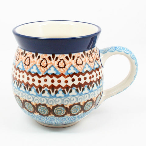 polish-pottery-ladies-mug-#1359