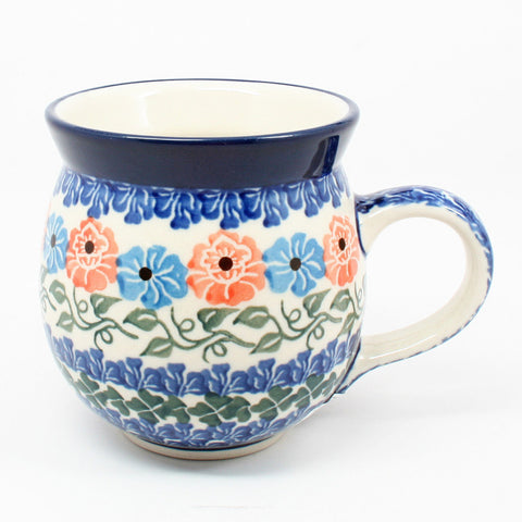 polish-pottery-ladies-mug-#1369