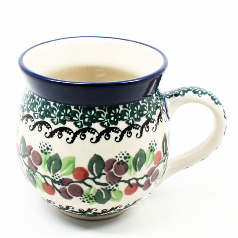 polish-pottery-ladies-mug-#1415