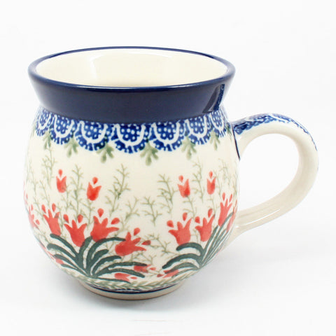 polish-pottery-ladies-mug-#1437