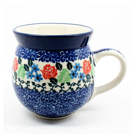 polish-pottery-ladies-mug-#1498