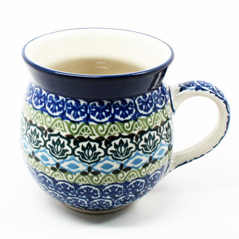 polish-pottery-ladies-mug-#1858