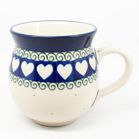 polish-pottery-ladies-mug-#375