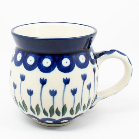 polish-pottery-ladies-mug-#377z