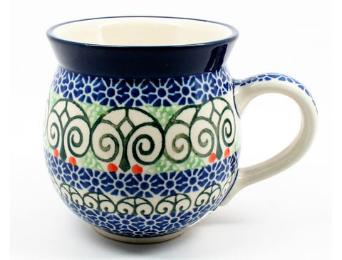 polish-pottery-ladies-mug-#826