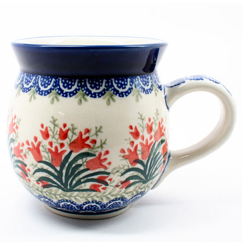 Polish Kitchen Online carries polish pottery gentlemens bubble mugs from Ceramika Artystyczna.
