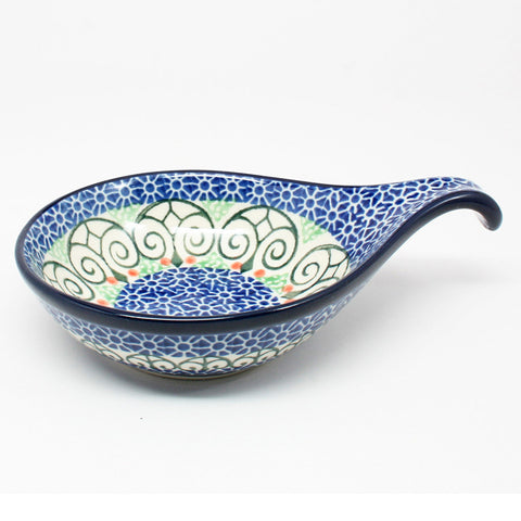 polish-pottery-single-serving-dish-#826