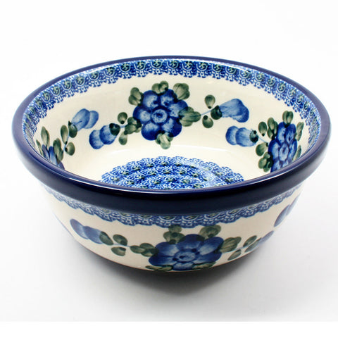 polish-pottery-22oz-cereal-bowl-#163