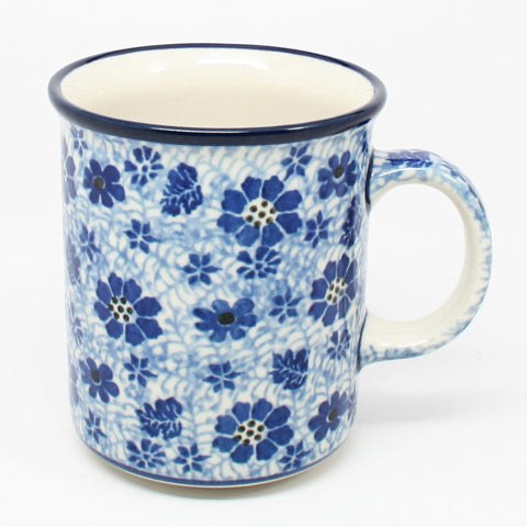 polish-pottery-8oz-straight-mug-#1443