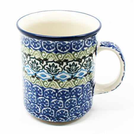 polish-pottery-8oz-straight-mug-#1858